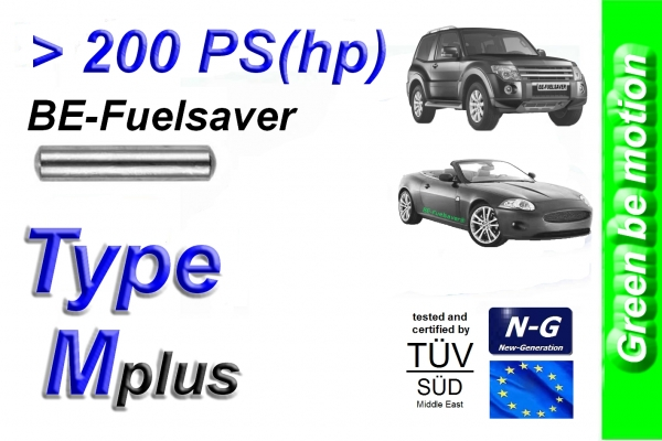 BE-Fuelsaver Type Mplus more than 200 HP , Spportcars SUV